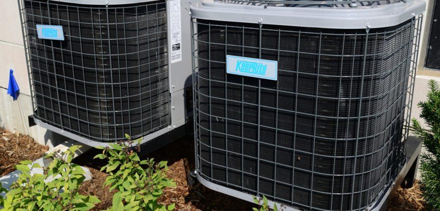 air conditioner running